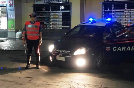 Paternò (CT). Servizio anticrimine dei Carabinieri: due le persone denunciate
