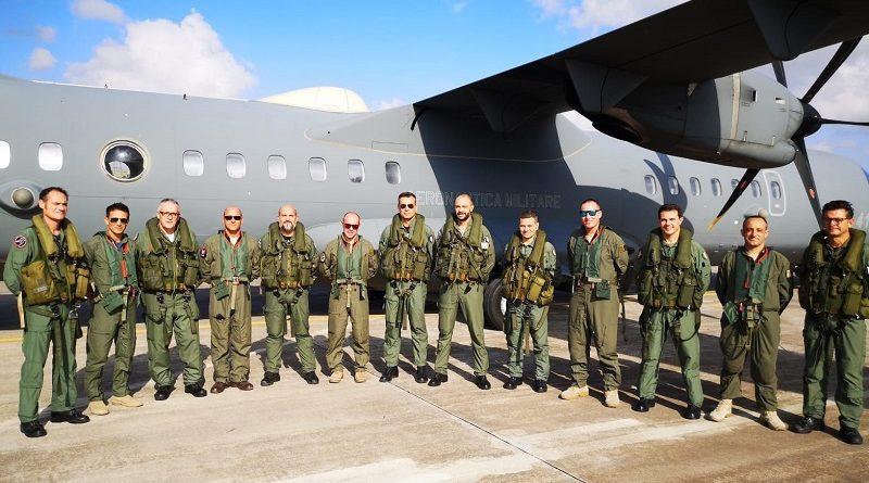 A Sigonella esercitazione tra equipaggi del 41° Stormo e dell'Armed Force di Malta