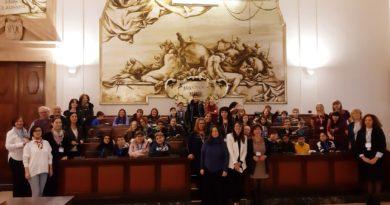 Studenti Erasmus in visita a Palazzo degli Elefanti