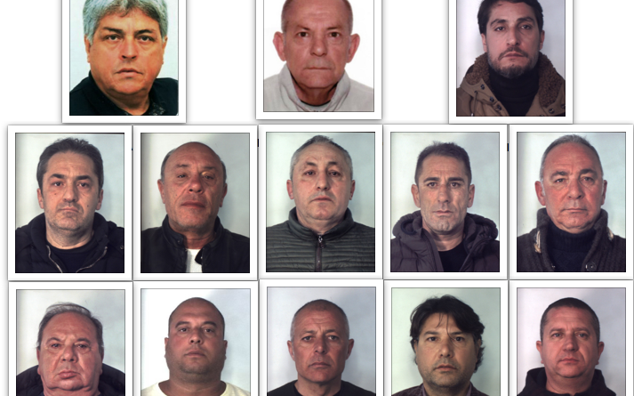 """Indagine """"Vento di Scirocco"""": 23 persone sotto ordinanza di custodia"""