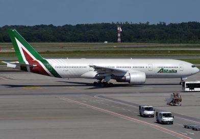 Alitalia: attivati voli merci no-stop Cina