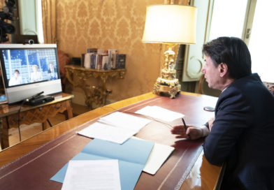 Colloquio telefonico Conte e Merkel