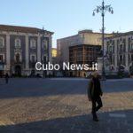 Piazza Duomo deserta