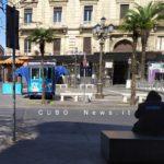 Piazza Stesicoro: senza tetto all' ombra