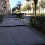 Deserta la salita di Via San Giuliano