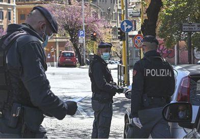 Covid-19: controlli delle forze di polizia