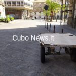 Piazza Stesicoro ancora desolazione a fine aprile