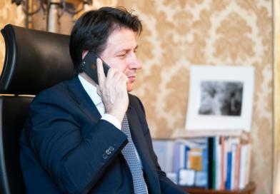 Colloquio telefonico tra Conte e Putin