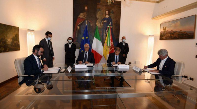 50 mln per gli impianti, firmato accordo tra Regione, Irfis, Coni e Ics