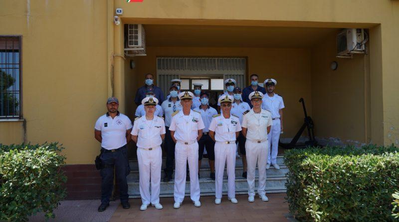 Il Comandante Generale in visita al VTS dello Stretto.