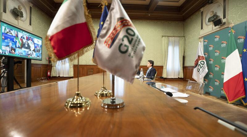Conte partecipa al Vertice G20 di Riad
