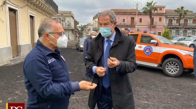 Etna: un milione a sostegno delle aree più colpite