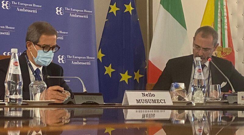 """Musumeci incontra Ambrosetti Club: """"Diventare competitivi nel Mediterraneo"""""""